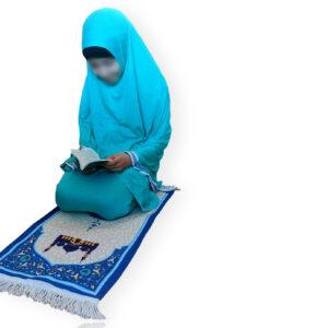 ensemble prière turquoise