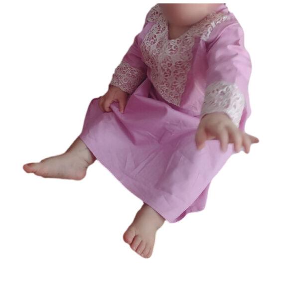 abaya mauve pour fille 2ans