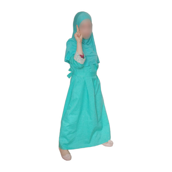 abaya turquoise